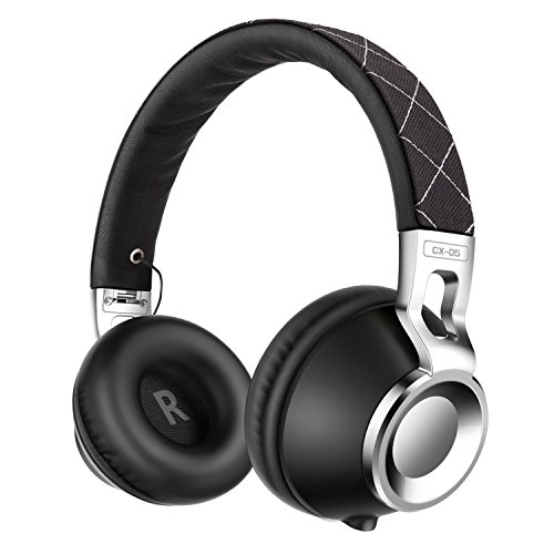 Sound Intone CX-05 Noise Isolating Headphones with Microphone for Smartphones - Black