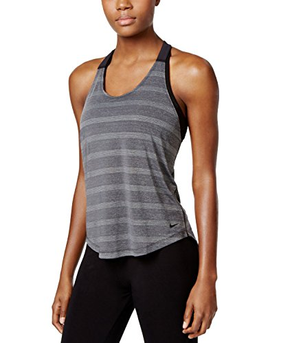 Women's Nike Elastika Elevate Training Tank Black Size Large