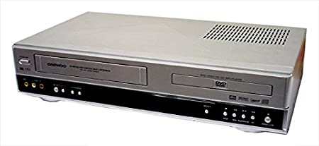 DAEWOO SD3500P DVD PLAYER & VCR/VHS VIDEO PLAYER COMBINATION, COMBI