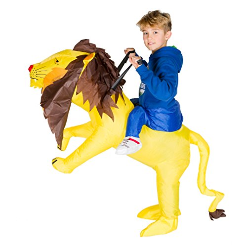Bodysocks Kids Inflatable Lion Fancy Dress Costume