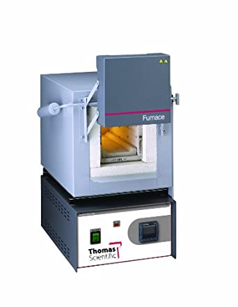 """Thomas Benchtop Industrial Furnace, 136 cubic inch Capacity, 4"""" Width x 3-3/4"""" Height x 9"""" Depth, 100 to 1200 degree C"""