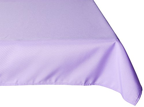 70 Inch Square Polyester Tablecloths - 70 in. sides 100% Polyester (Dacron) Fold Over hemmed edges - tablecloths, kitchen-dining-room-table-linens, kitchen-dining-room - 41O0ZSu5%2B3L -