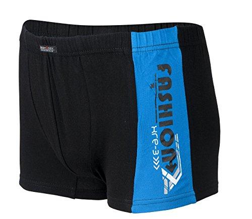 Piarini® Herren Boxershorts Unterhosen Pants im Retro-Look, Farbe:Mix-Fashion;Größe:XL/7
