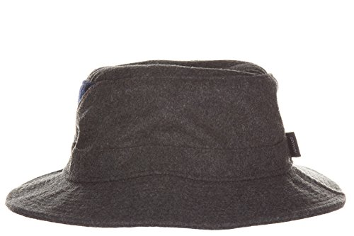Armani Jeans chapeau homme en laine gris