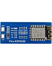 TOP1 ESP8266 WiFi Module for Raspberry Pi Pico, Supports STA/AP/STA+AP WiFi Operating Modes, Supports TCP/UDP Communication