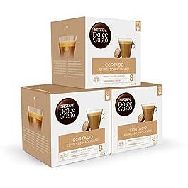 Nescafé DOLCE GUSTO Magnum Café CORTADO Espresso – Cápsulas de Café – 3 x 30 – 90 Cápsulas