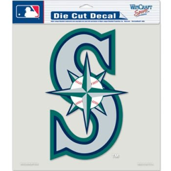 (WinCraft MLB Seattle Mariners Die-Cut Color Decal, 8