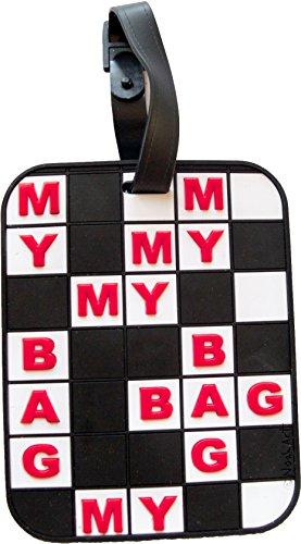 Luggage Tag Crossword Puzzle 3-D My Bag Heavy duty Luggage ID - Ny On 5th Avenue Shops