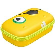 ZIPIT Beast Box Hard Shell Pencil/Storage Box, Yellow