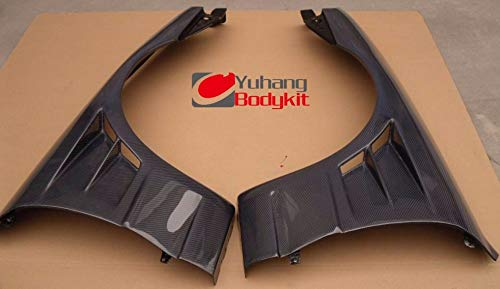 Mudguards Car Styling For 1989-1994 CF Skyline R32 GTS Front Fenders (pair) Carbon Fiber +25mm BN-Sports Style