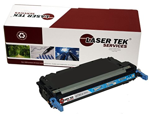 (Laser Tek Services Compatible Toner Cartridge Replacement for HP 503A Q7581A (Cyan, 1-Pack))