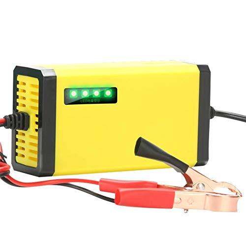 12v2a para MOTOPOWER MP00205A 12V 800mAh Cargador de batería totalmente automático/mantenimiento para motocicletas coches...