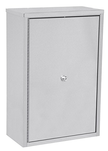 ACS - Narcotic Locking Cabinet 16''W x 8''D x 24''H Stainless Steel 181681 by ACS