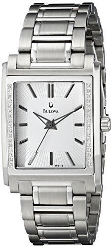 Bulova Men's 96E113 Diamond Case Watch