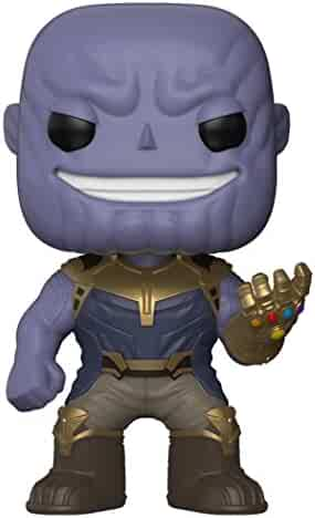 Funko Pop Marvel: Avengers Infinity War-Thanos Collectible Figure, Multicolor