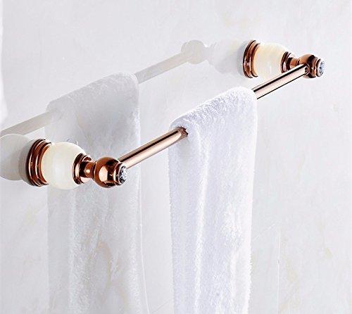 DIDIDD European Bathroom Towel Rod All Copper Toilet Hanging Rack,C by DIDIDD