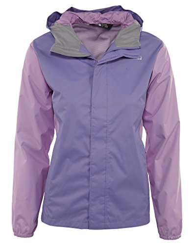The North Face Kids Girl's Resolve Reflective Jacket (Little Kids/Big Kids) Paisley Purple (Prior Season) X-Large
