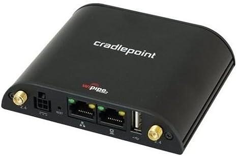 B-Stock Verizon Cradlepoint CBA850 Wireless Modem Antenna+Power Supply Bundle