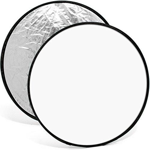 Igadgitz U5546 60 Cm 2 In 1 Portable Collapsible Light Round