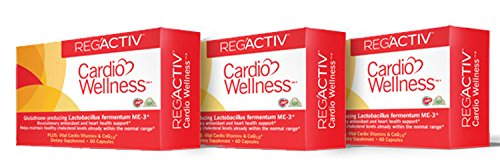 Reg'Activ Cardio Wellness (3pack) by Essential Forumulas Via Superior Health Products