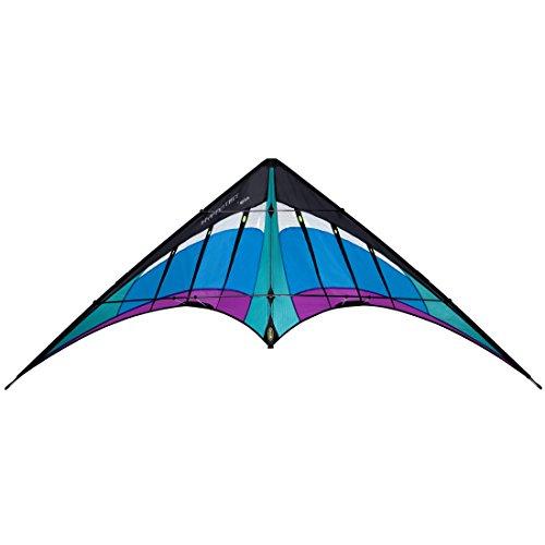 Fly Yo Yo Pro - Prism Hypnotist Dual-line Stunt Kite, Ice