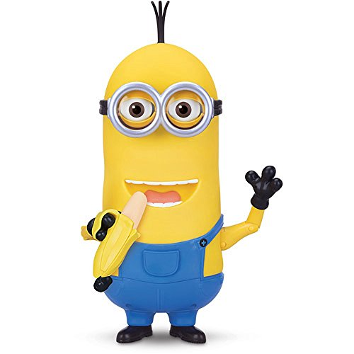 Minion Kevin Banana Eating Action Figure