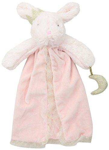 Mud Pie Newborn Blankets (Mud Pie Dream in Glitter Pink Bunny Plush Lovey)