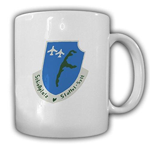Shooting Season Sylt Bundeswehr Luftwaffe air-ground firing NATO LwVersRgt 7 crest badge naval aviation - Coffee Cup Mug