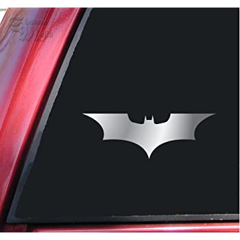 Batman Begins The Dark Knight Vinyl Decal Sticker 6 X 21 Shiny Chrome