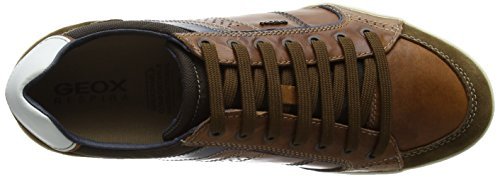 Top Marrone Geox Low Brownc0235 Uomo Browncotto xY0a605wq