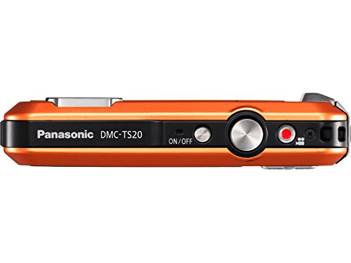 Panasonic Lumix TS20 16.1 MP TOUGH Waterproof Digital Camera with 4x Optical Zoom (Orange) (OLD MODEL) by Panasonic (Image #4)