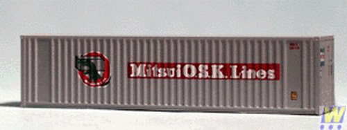 'Walthers Corn Trims 949 8805/HC container MITUSI 40 Foot 949-8805