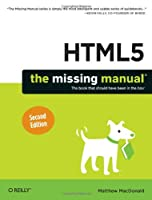 HTML5: The Missing Manual, 2nd Edition Front Cover