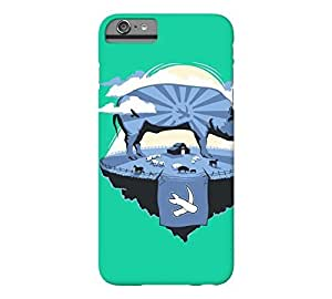 Animal Farm iPhone 6 Plus Caribbean green Barely There Phone Case