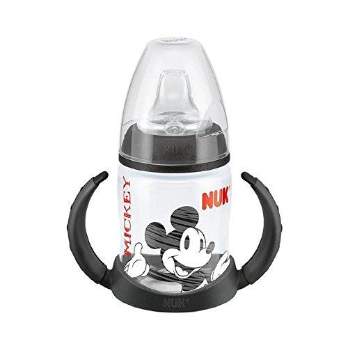 ディズニー学習ボトル、黒 (NUK) (x 6) - NUK Disney Learner Bottle, Black (Pack of 6) [並行輸入品]   B01LYMUXLT