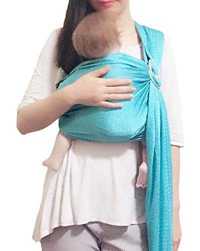 Vlokup Baby Water Ring Sling Carrier | Mesh Baby Wrap for Newborn Girl, Boy,...