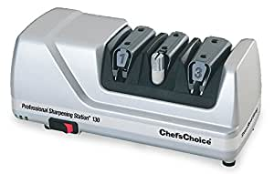 Edgecraft 130 Professional Knife-Sharpening Station, Platinum