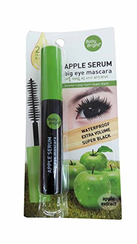 Baby Bright Apple Serum Big Eye Mascara. Waterproof Extra Volume Super black. (8 g/ - Nyc Designer Eyeglasses