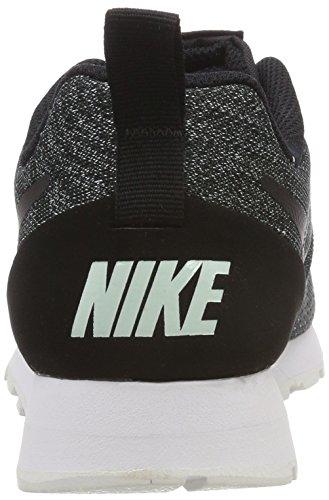 Nike 2 noir blanc 003 Mesh Wmns noir Runner Md Noir Eng Femme Baskets igloo agqw4arK