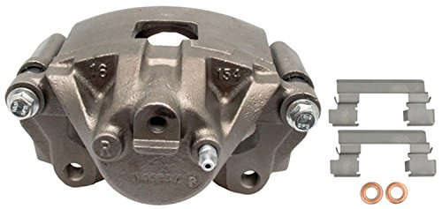 ACDelco 18FR1769 Professional Front Disc Brake Caliper Assembly without Pads (Friction Ready Non-Coated), Remanufactured
