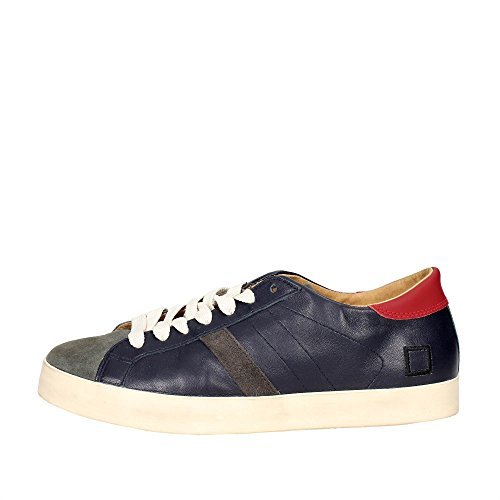 D.A.T.E. Hill LOW-44I Low Sneakers Man Blue from china cheap online 32QSXIiwq
