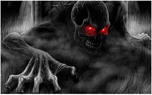 Halloween Ghosts Sticker Red Eyes Black Ghost Wallpaper