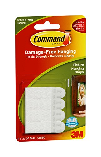 Command Picture Hanging Strips 4 Strip