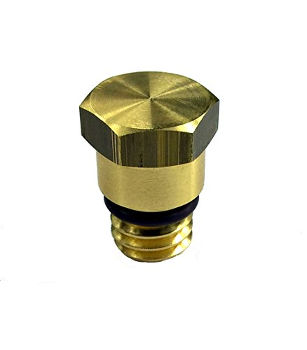 (TamerX HFCM Water Separator Drain Plug Upgrade- Ford Powerstroke 6.0L Diesel)