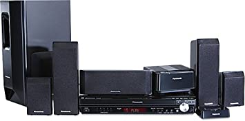 panasonic home theater. Panasonic SC-PT750 Deluxe 5 DVD Home Theater System (Discontinued By Manufacturer)