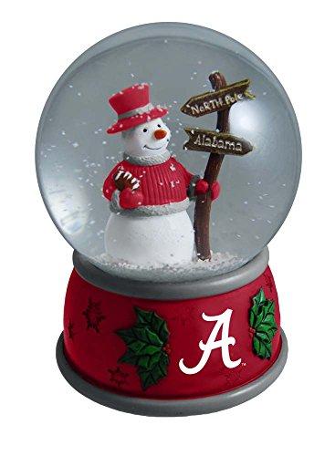 NCAA The University of Alabama Christmas Snow Globe, One ...
