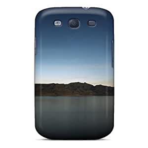 For Galaxy S3 Tpu Phone Case Cover(lake And Sky)