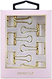 Clips Blinder Ouro UP4YOU 6 Un. Clp06001Up 28139