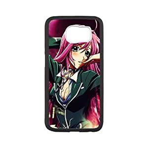 samsung galaxy s6 White Rosario + Vampire phone case cell phone cases&Gift Holiday&Christmas Gifts NVFL7N8825089
