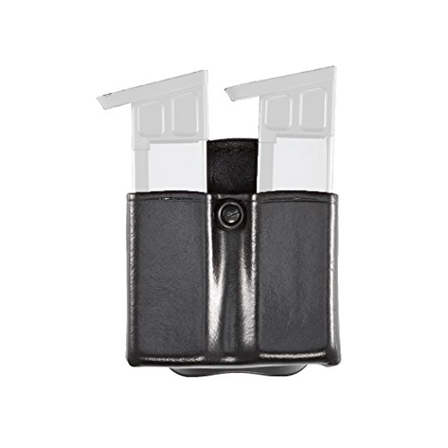 Aker Leather 523 D.M.S. (Dual Mounting Series) Twin, Black, Fits Most Standard Beretta 92, Glock 36, Sig Sauer P226, P229 and Smith & Wesson 4006 9mm (Sig P226 9 Mm)